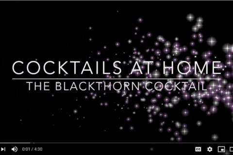 The Blackthorn Cocktail