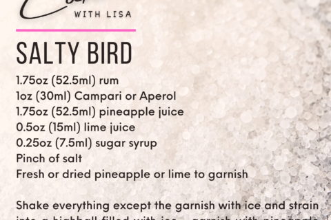 Salty Bird Cocktail Recipe